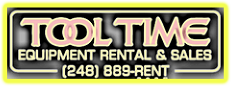 Tool Time Equipment Rental & Sales | Highland MI