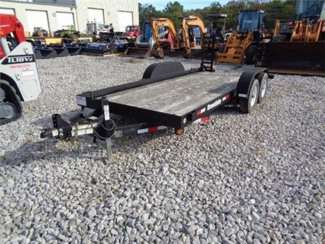 Where to find TRAILER- DOUBLE AXLE RED CRONK 16 x 7 7 in Highland