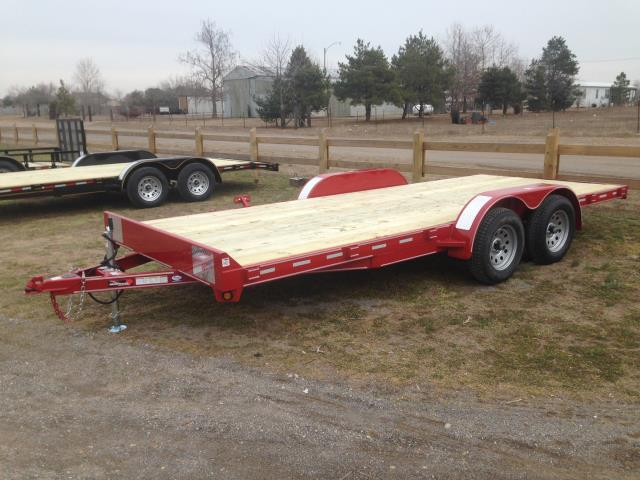 Where to find TRAILER- DOUBLE AXLE CONTRAIL RED in Highland