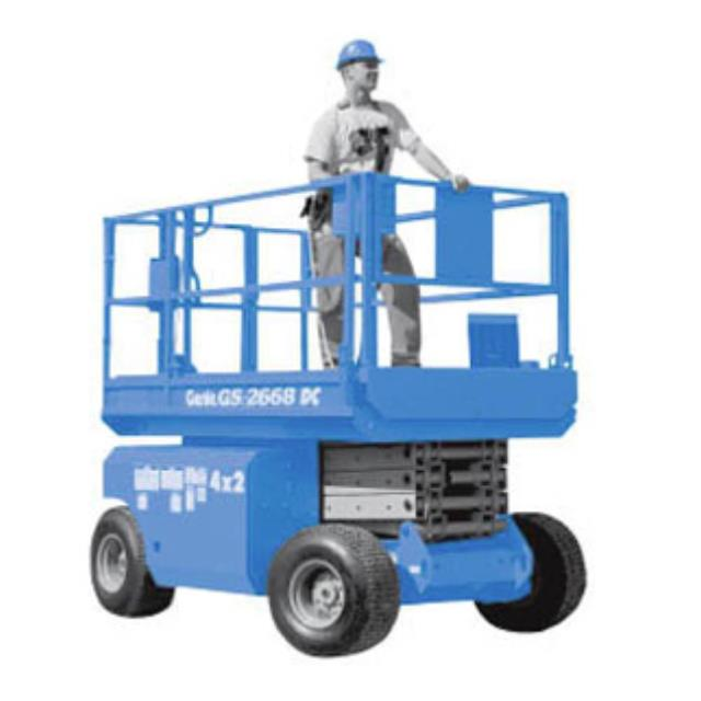 Where to find SCISSOR LIFT 2668 26  ROUGH TERRAIN in Highland