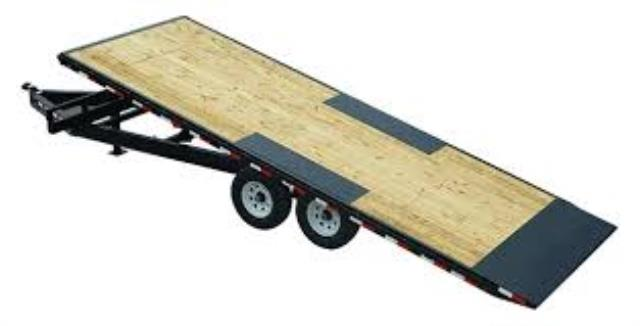 Where to find TRAILER-DOUBLE AXLE DECK OVER TILT 22 in Highland