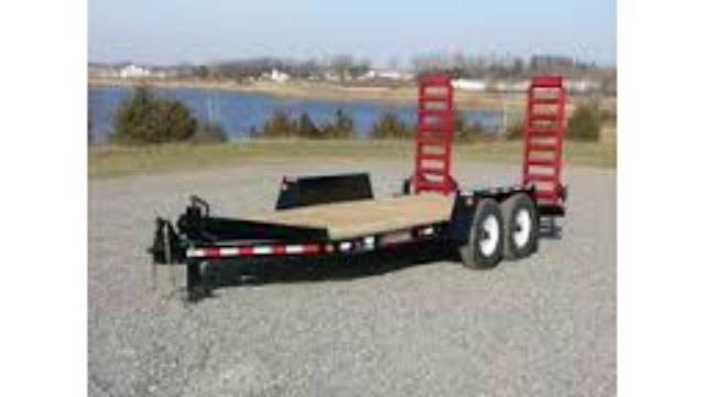 Where to find TRAILER-DOUBLE AXLE COMTRAIL 16  RED RAM in Highland