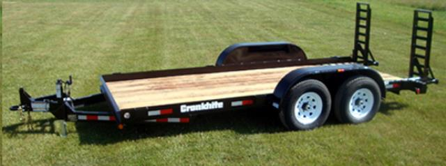Where to find TRAILER- DOUBLE AXLE CRONKHITE 2600 in Highland