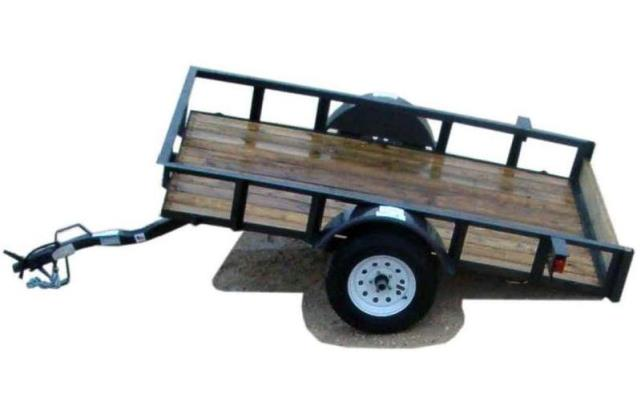 Where to find TRAILER- SINGLE AXLE TILT BED-9 X6.5 in Highland