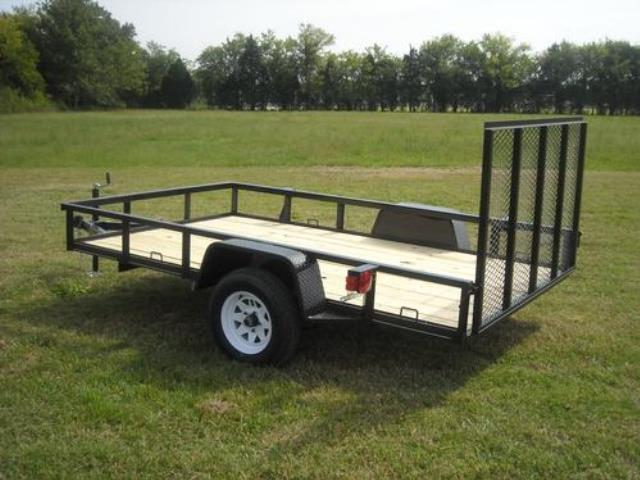 Where to find TRAILER- SINGLE AXLE 9 X6.5  -W- GATE in Highland