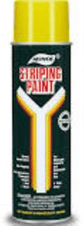 Rental store for Yellow Aervoe Striping Paint 18oz Can in Highland MI