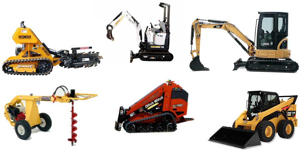 Equipment rentals in Central & Southeast Michigan
